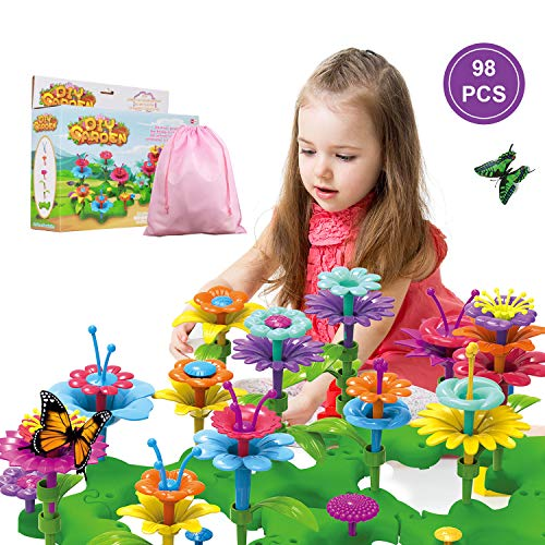 (50% OFF Coupon) Toy Flower Garden $13.99