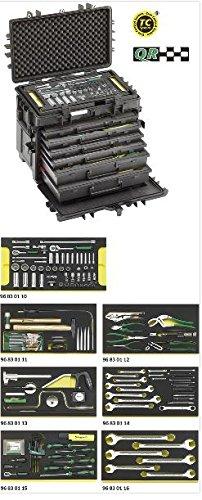 Stahlwille 13224A WT/TS AOG-Kit für Flugzeuge im Werkzeug-Trolley Nr.13217, zöllig