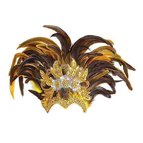 WIDMANN Tocado plumas inca show Cualquier da