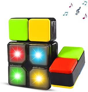 Yojoloin Toy Regalos para Niños 4-12 Años Niña Cubo Mágico de Cubo de música electrónica Juego de Rompecabezas para niños Juguetes de Novedad para niños Juguetes