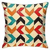 Farbige Bumerang Kissenbezug Kissenbezug Square Throw Case Kissen für Sofa und Bett dekorativ