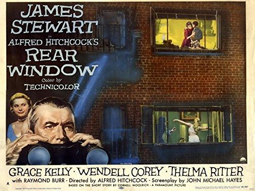 PhotoSight Rear Window 1954 Retro Classic Movie Vintage 32x24 Print Poster