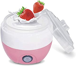 WGNHM Yogurt machine,Automatic Yogurt Maker Machine Customize To Your Flavor And Thickness Electric (Color : Pink)