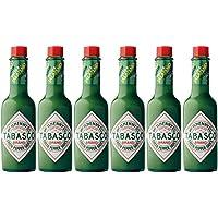 Tabasco Pimienta Verde Suave 57ml (Paquete de 6)