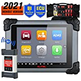 Autel MaxiSys MS908S Pro Diagnostic Scan Tool Active Test Bi-Directional Scanner with J2534 ECU Programming, All Systems Wireless Diagnostic Tool with 30+ Special Functions, Same as MK908P