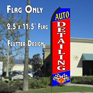 2 two OPEN red//wh 15 Swooper #4 Feather Flags KIT