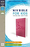 Holy Bible: New International Version, Pink, Leathersoft, Thinline Edition, For Kids