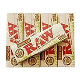 RAW ロー 手巻き用オーガニックヘンプ、ローリングペーパーシングル70mm シャグ 喫煙具 5個セット