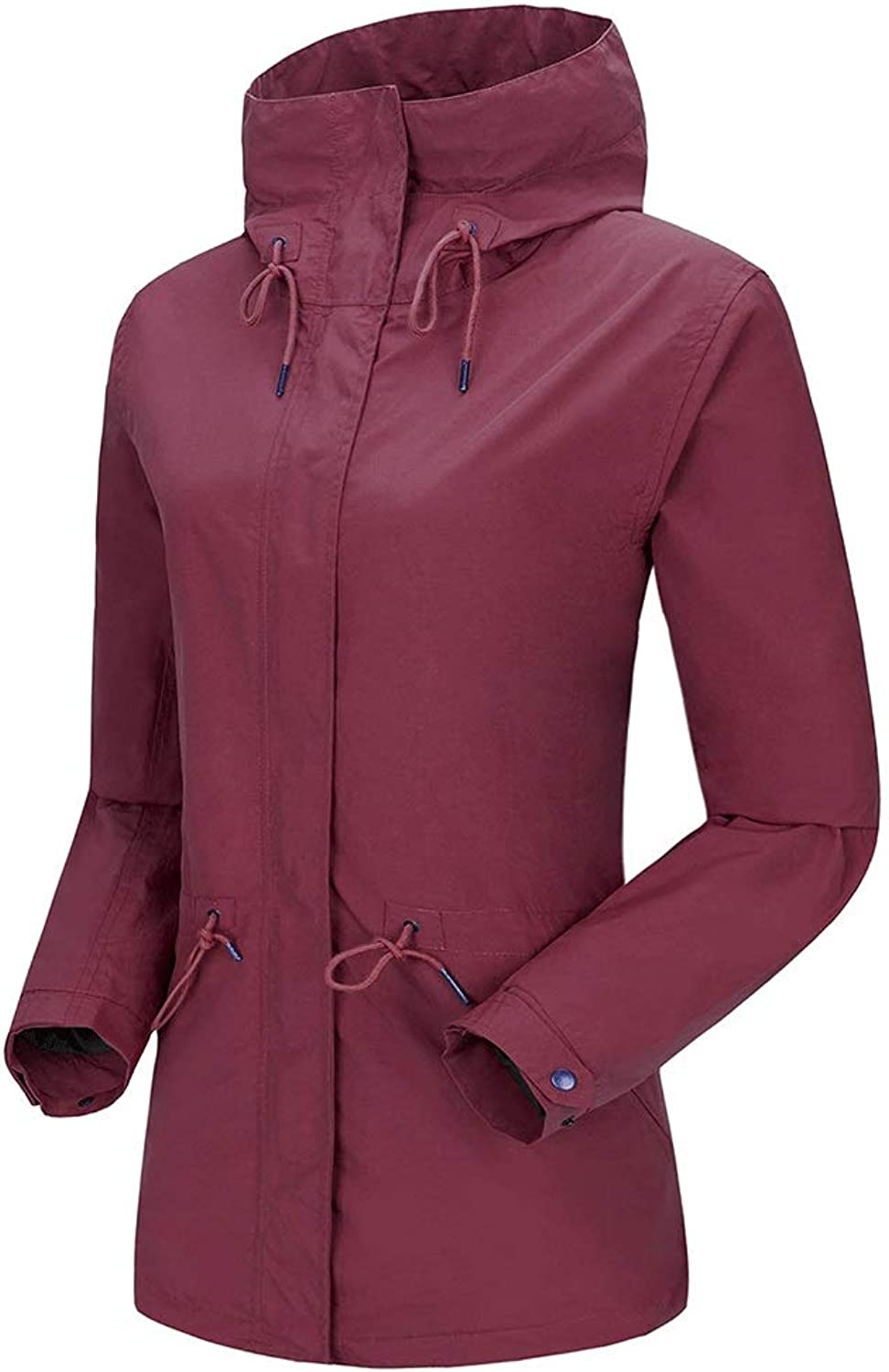 HUIFA Outdoor Girl Jacket Thickened in The Long Section Waterproof Breathable Mountaineering