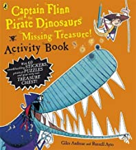 Captain Flinn And The Pirate Dinosaurs Missing Treasure Act Bk