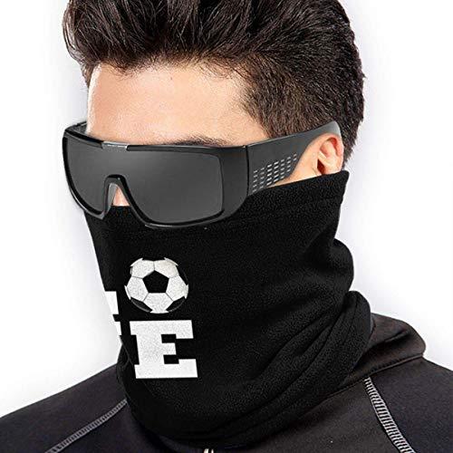 QDAS mannen vrouwen houden voetbal nek bewarmer gratis UV-schaal afdekking muts voor stof outdoor sport zwart