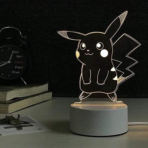 Veilleuses lampe enfant veilleuse adulte veilleuse lune Chevet de chambre à coucher 3D Baby Small Light Mini-Bika