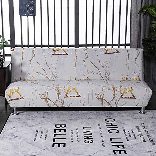 XIAOHUTAO Funda para sofá Cama con Estampado elástico sin apoyabrazos, Funda para sofá Cama con Envoltura Ajustada, Funda para sofá Suave elástica para Muebles, K759, tamaño S 150,185cm AA