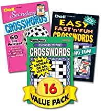 Family Fun Penny Press/Dell Magazines Crosswords - 16 Pack