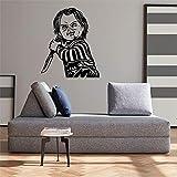Vinilo decoratívo Chucky,Cine,Marca KIVIKE,habitación de los niños,decoración del hogar,Etiqueta...