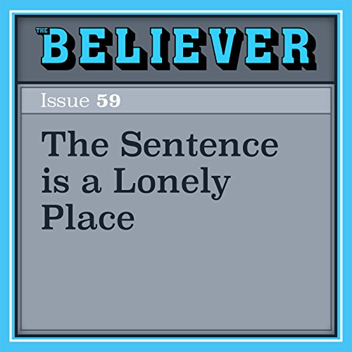The Sentence is a Lonely Place audiobook cover art