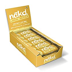 ALL NATURAL – These healthy snack bars are made with 100% natural ingredients, just fruit and nuts smooshed together! GLUTEN FREE – Nakd Lemon Drizzle is a delicious wheat free and gluten free fruit and nut bar HEALTHY SNACK – One of your five a day,...