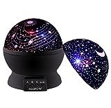 Projecteur d'étoile de lumière de nuit de bébé, lumières de nuit pour des enfants Projecteur de lumière de rotation d'étoile coloré Meilleure idée de cadeau pour des filles de garçons