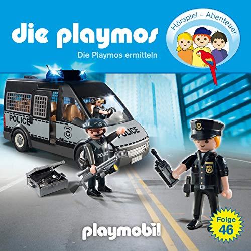 Die Playmos ermitteln     Die Playmos 46              Autor:                                                                                                                                 David Bredel,                                                                                        Florian Fickel                               Sprecher:                                                                                                                                 Gerrit Schmidt-Foß,                                                                                        Santiago Ziesmer,                                                                                        Ricardo Richter,                   und andere                 Spieldauer: 57 Min.     Noch nicht bewertet     Gesamt 0,0