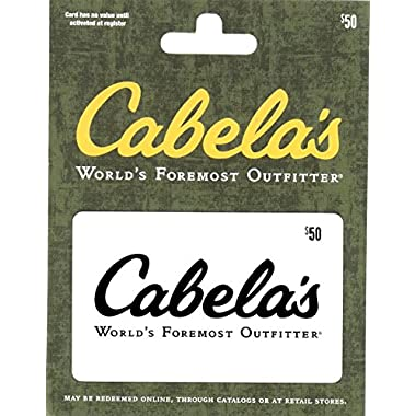 Cabelas $50 Gift Card