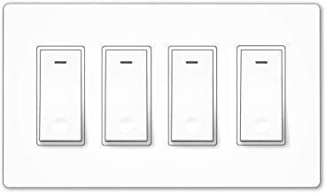 Best 4 light switch panel Reviews