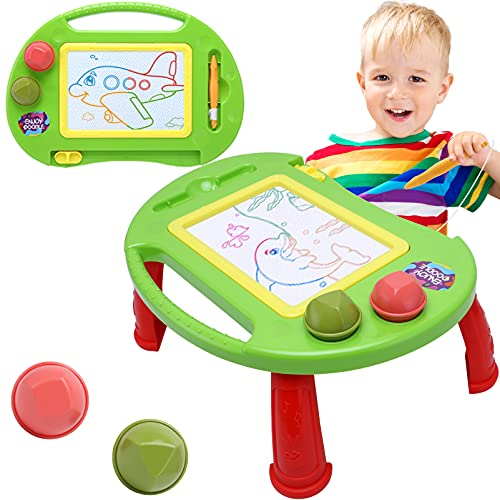 Toddler Toys,Toys for 1-2 Year Old Boys Girls,Magnetic Drawing Board,Magna Erasable Doodle Board for Kids,Toddler Baby Toys 18 Months to 3 Girls Boys