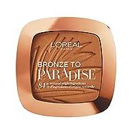 L'Oreal Paris Bronzer - Back To Bronze Matte Bronzing Pressed Powder, Shimmer Free, Medium, Compact ...