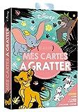DISNEY - Pochette Les Ateliers - Mes cartes à gratter - Animaux: .
