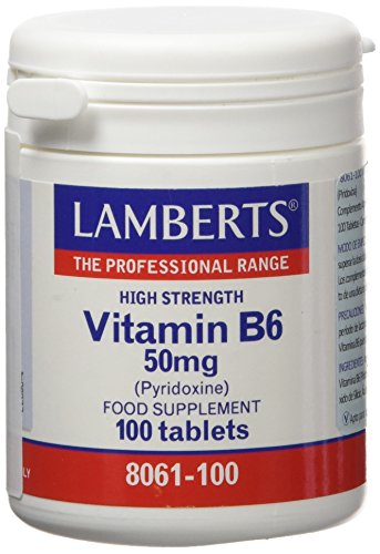 Lamberts Vitamina B6 50mg - 100 Tabletas