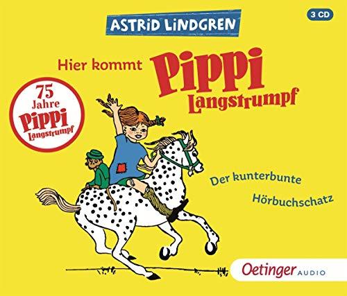 Hier kommt Pippi Langstrumpf: Der kunterbunte Hörbuchschatz: Der kunterbunte Hörbuchschatz (3CD)
