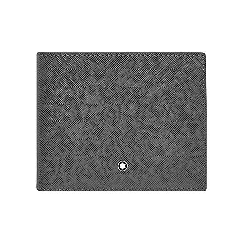 Montblanc Credit Card Case, Grey (Grau), 12 centimeters