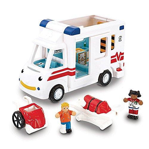 Jumbo Games Wow Toys - Robin's Medical Rescue, Coche de Juguete (10141)