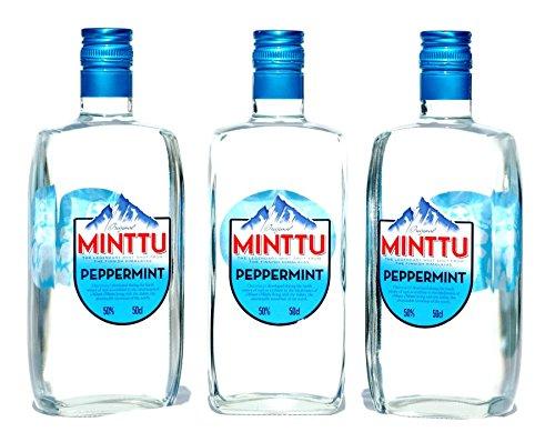 Minttu Peppermint 50% 3 X 0,50 Liter