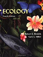 Ecology 4th (fourth) edition by Ricklefs, Robert E., Miller, Gary published by W. H. Freeman (1999) [Hardcover]