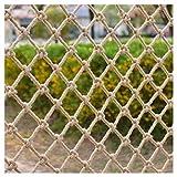 Red de Seguridad Para Balcón, Red De Seguridad Infantil Cuerda De Cáñamo Escalera Balcón Protección Red Red De Escalada Cuerda Valla Decoración Red Techo De Pared Tejido A Mano Red Retro Bar Jardín In
