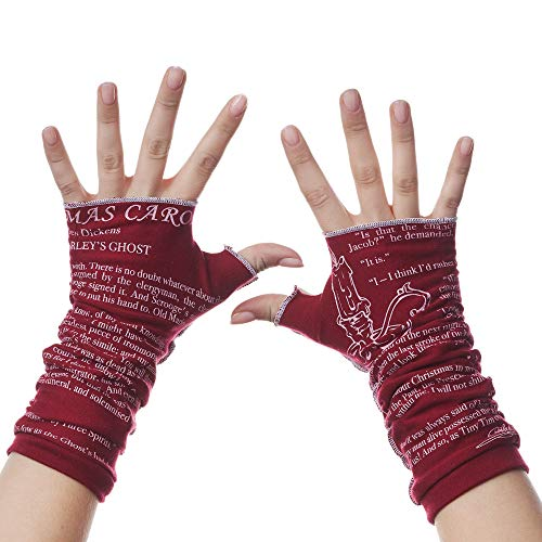 A Christmas Carol Writing Gloves - Limited Edition