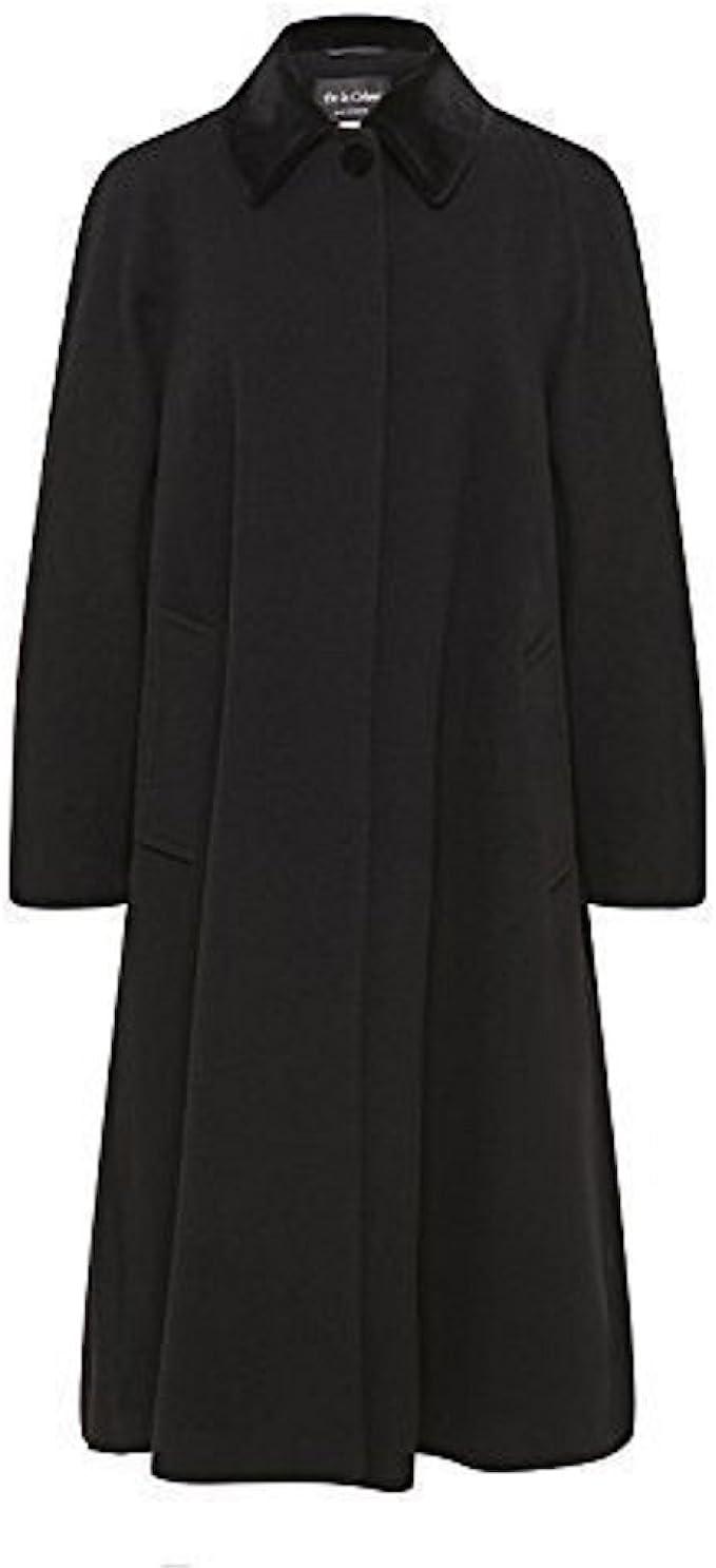 1950s Coats and Jackets History De La Crème - Womens Wool and Cashmere Blend Swing Winter Coat  AT vintagedancer.com
