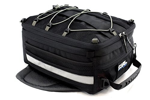 Chase Harper USA 800 Magnetic Tank Bag - Water-Resistant, Tear-Resistant, Industrial Grade Ballistic Nylon with Anti-Scratch Rubberized Polymer Bottom, Super Strong Neodymium Magnets