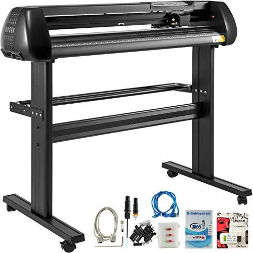 VEVOR 28 Inch vinyl schneideplotter vinyl cutter plotter 720mm Slogan Cutting Plotter basic vinyl cutter machine Singmaster Software