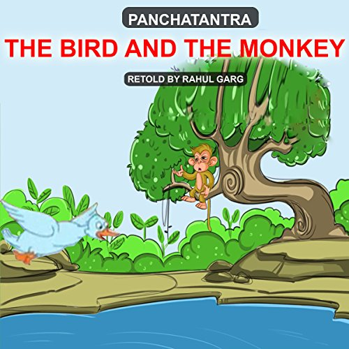 The Bird and the Monkey audiobook cover art