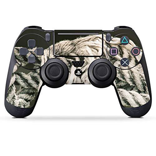 DeinDesign Skin kompatibel mit Sony Playstation 4 Slim PS4 Controller Aufkleber Folie Sticker Seil Seefahrt Knoten