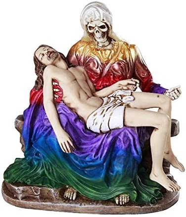 Santa Muerte Saint of Holy Death Religious Seven Mesa Mall Resin Powers St Award-winning store
