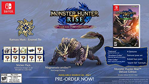 Monster Hunter Rise - Collector's Edition (輸入版:北米) – Switch