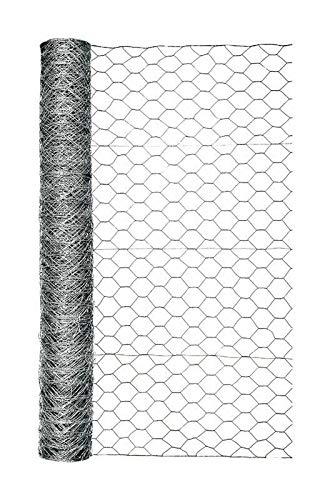 Garden Zone Poultry Netting 48' H X 50 ' L 20 Ga Bulk