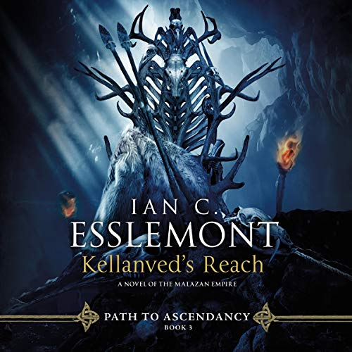 Kellanved's Reach     Path to Ascendancy, Book 3              Written by:                                                                                                                                 Ian C. Esslemont                               Narrated by:                                                                                                                                 John Banks                      Length: 13 hrs and 7 mins     Not rated yet     Overall 0.0