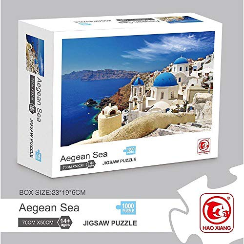 1000 stukjes Landschapsschip Puzzel Volwassen puzzel Jumbo Houten Volwassenen Speelgoed Geschenk Kartonnen puzzels Educatieve spellen, Meer