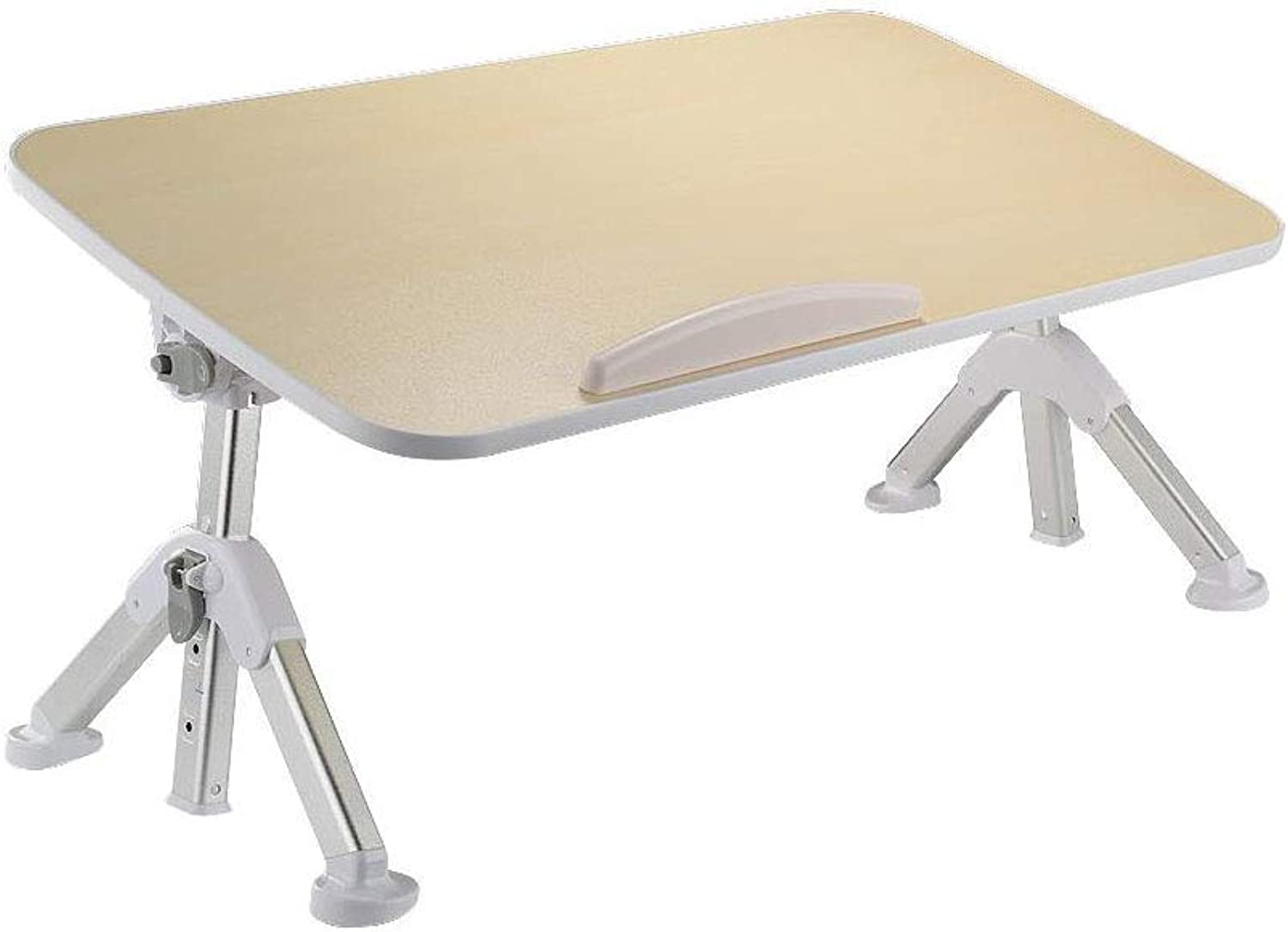 LiTing-Folding Table Simple Computer Desk, Bed, Table, Female College Dormitory, Foldable Table, Lazy Table (Size   52x30x33cm)