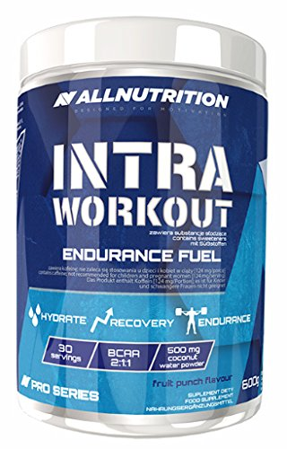 All Nutrition Intra Workout Booster Supplement, Fruit Punch