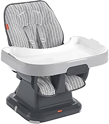 Fisher-Price SpaceSaver High Chair - Arrows & Tire Tracks