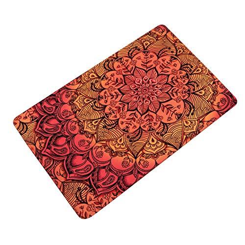 TREESTAR Estera de la puerta impresa alfombra alfombra del piso estera de la puerta antideslizante camino de entrada alfombra interior cocina exterior decoración del hogar